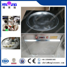 Popular soft and hard fry ice cream machine /single pan fried ice cream machine