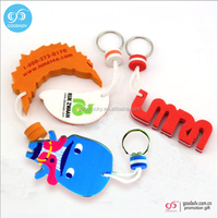 Promotional keychain wholesale factory price cheap key chains waterproof eva key holder