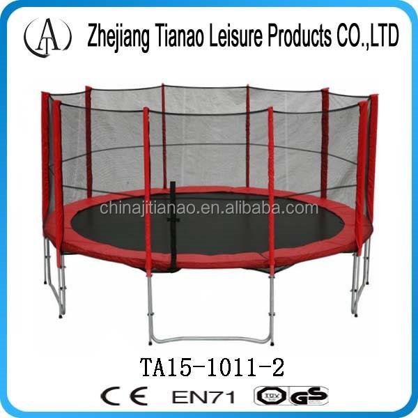 Heavy Duty Trampoline,15ft Outdoor Trampoline Safety