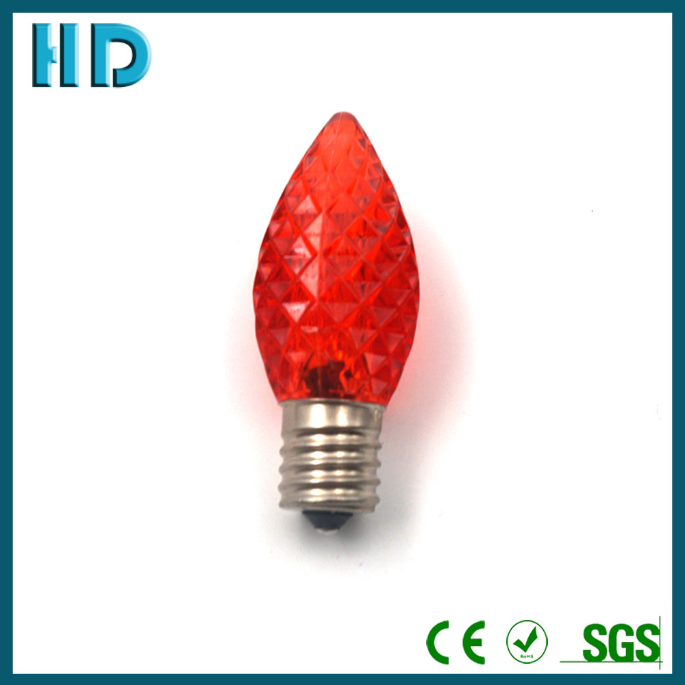 colorful C9 e17 led christmas light