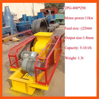 reliable crusher manufacturer supply high quality two roller crusher machine