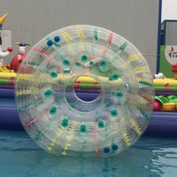 color optional inflatable water bubble roller for sale