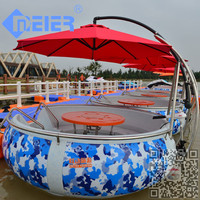 Good price Pontoon boat,speed boat with electric motor