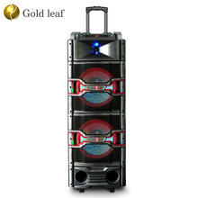 Professional speakers and loudspeaker two 10 inch bass horn 4 ohm 120W dj speakers