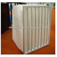 Air intake filter media for spray booth pre filtration