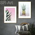 Nordic Beach Pineapple Duvar Tablolar Posters And Prints Wall Art Canvas Painting Wall Pictures For Living Room