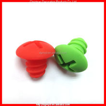 spiral shape Food grade Silicone wire bottle Lids (MYD-1717)