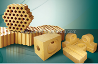 Dense silica refractory brick for glass furnace
