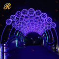 LED light arch street Christmas decor wholesale