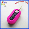 Colorful Cool Gift Vehicle Accessories Silicone Remote Key Case for Fiat