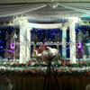 wedding background decoration led star curtain