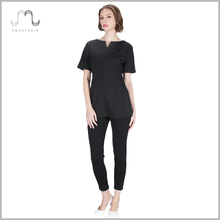 New Style Hotel Ladies Design Spa Work Uniform Shirt On Wholesale