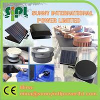 With adjustable solar panel attic fan ventilator detached solar panel vent kits exhaust air cooler solar fan