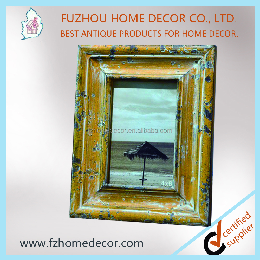 2016 new style shabby wooden photo frame for home decor for New home products 2016
