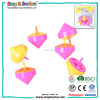 Eco friendly innovative giveaways toy spinning top game for kids
