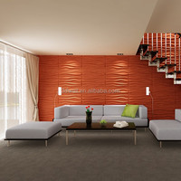 eco friendly products wall wood carving design 3d decorative interior wall covering panels