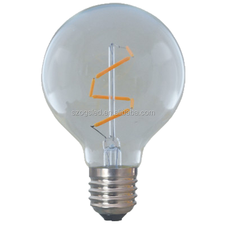 2017 Export America Italy LED Filament Bulb Energy saving E27 8W, high brightness LED bulb