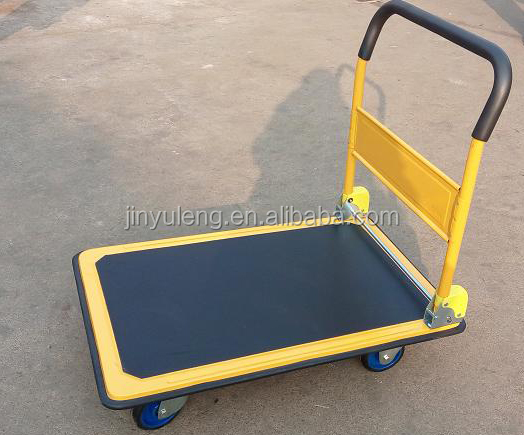 high quality real load 300kg heavy duty foldable platform trolley