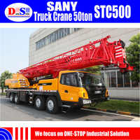 Price of Mobile Crane 50 ton SANY STC500 Mobile Crane for Sale in Malaysia