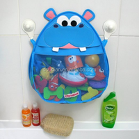 Polyester mesh hanging bath toy organizer for kids