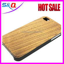 lower price china manufacturer PC wooden mobile phone case