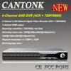 2015 New Multi-language menu 4CH 720P/960H HD AHD cctv dvr
