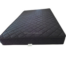 Black durable Bonnell Spring Visco Mattress
