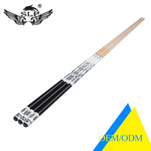 SLP Registered Brand Classic Black Color Butt Design Custom Available Pool Cue Stick