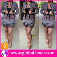 office ladies long sleeve tops and skirt two pieces pictures semi formal dresses