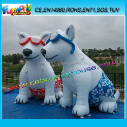 Inflatable lovely dog model for advertising/ Customize inflatable giant dog