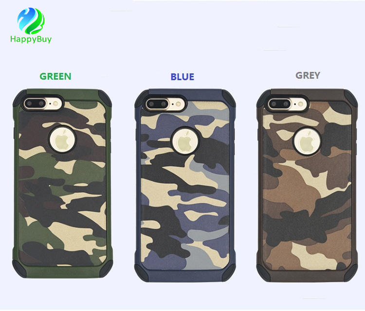 Luxury case for iphone5/5s/se,6/6s/6 plus,7/7 plus new armor cell phone case with special and mixed color design