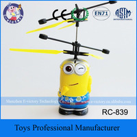 Latest Plastic Hand Induction RC Flying Robot Toy