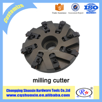 aluminum alloy indexable face milling cutter