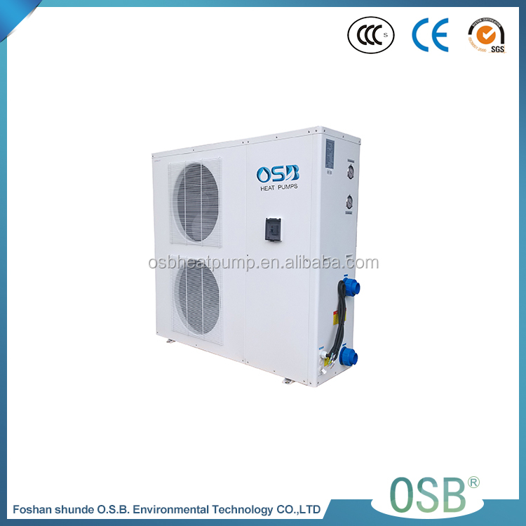 Shanbao Hot Water Heater Monoblock Air Source Dc Inverter Air To Water Swimming Pool Heat Pump