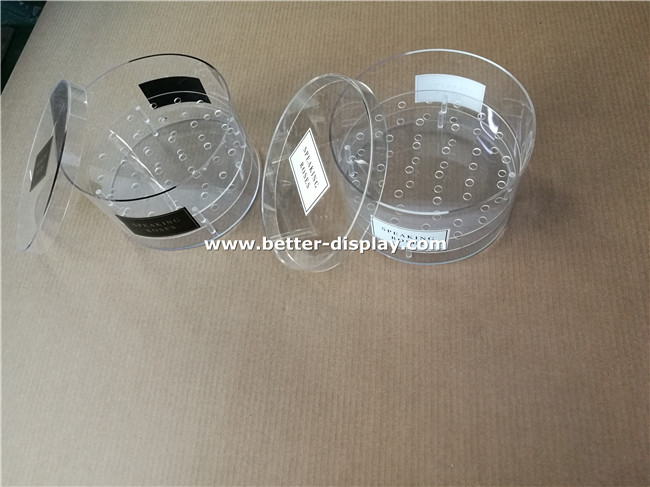 Professional Manufacturer of Acrylic round flower packing box