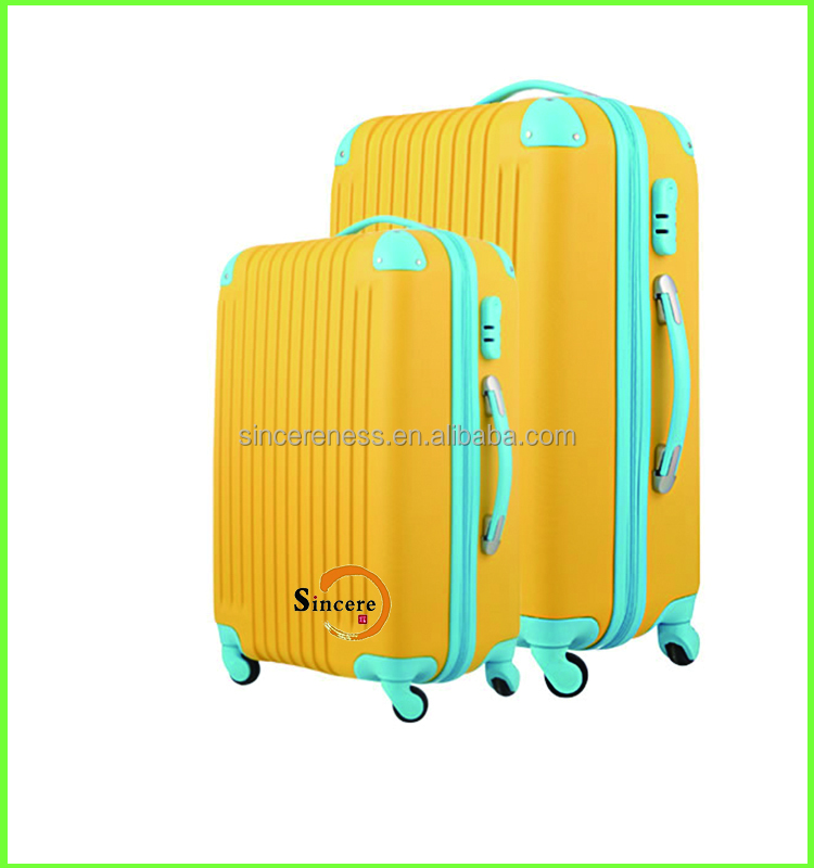 High end carbon fiber business travel trolley luggage case