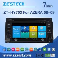 Car parts accessories pioneer car portable dvd player for Hyundai azera 2008 2009 car dvd player gps navigation CDMA2000 audio