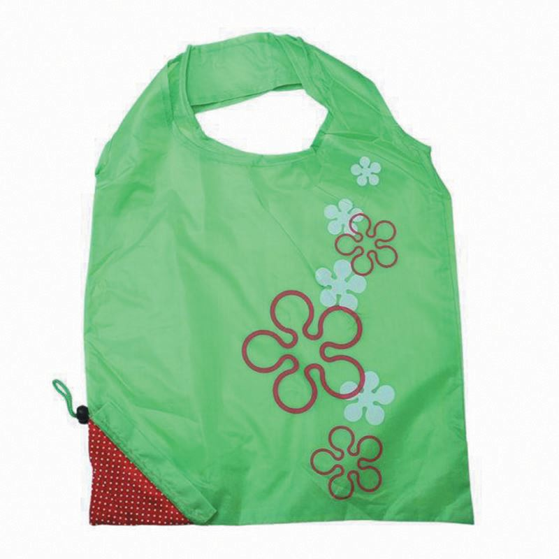 Roll Up Bespoke Polyester Foldable Shopping Bags