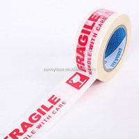 China Manufacturer 40mic*48mm*100y Sunny Brand Printed BOPP Packaging Tape