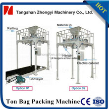 1 ton big bag filling machine for small cement powder