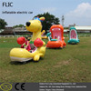 Adult & kid village fete electric ride ons child storage battery car inflatable animal car