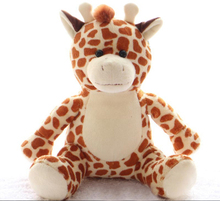 Custom Giraffe Plush toy talking animal toys plush musical christmas toy OEM order