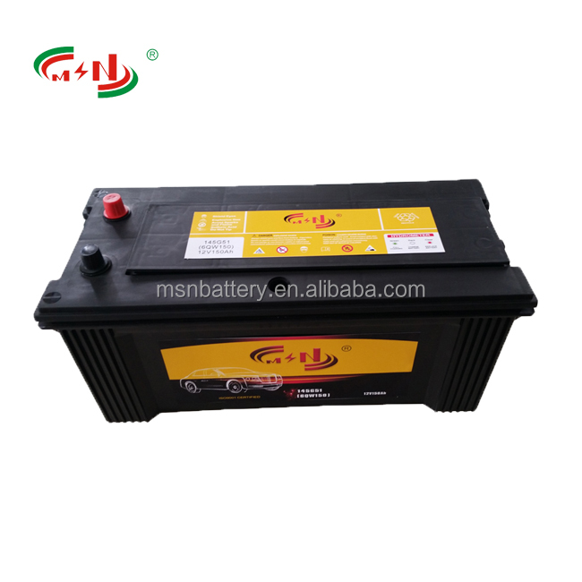 Truck battery 12V 120Ah 115F51 more than 5000 times starting