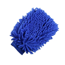High Quality OEM Chenille Microfibre Car Wash Mitt Microfiber Car Wash Glove