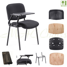 modern ISO chair kits with writing pad/ furniture spare parts