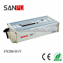 SANPU 2013 hot selling CE ROHS waterproof 200w 27v 220v led driver,printer power supply,transformer for led light