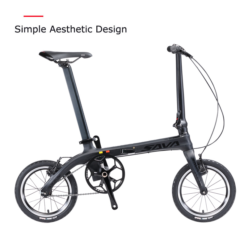 SAVA Z0 folding bicycle best quality Carbon frame 22 speed fast folding bicycle