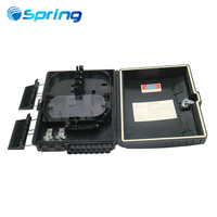 Outdoor FTTH 16port Wall Mount Or