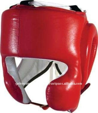 Leather Boxing Head Guards