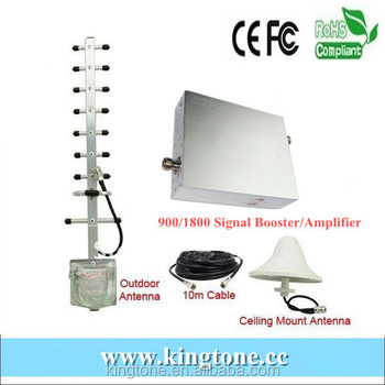 GSM Signal Booster 900 1800mhz Cell Phone Signal Range Extender